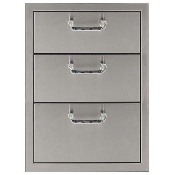 "Classic Series Triple Drawer Storage - 17"" x 24"" image number 0"