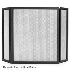 Classic Three Panel Fireplace Screen