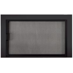 Clearview Reserve Mesh Masonry Fireplace Door