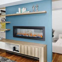 Napoleon CLEARion Elite 60 See Through Electric Fireplace