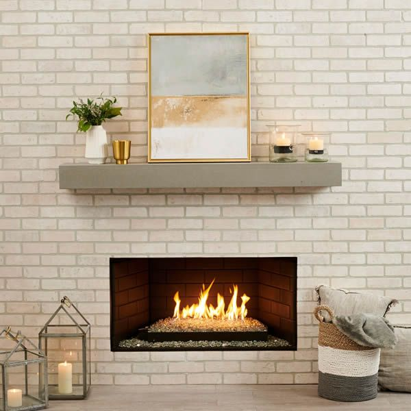Crestline Modern Hearth Set image number 2