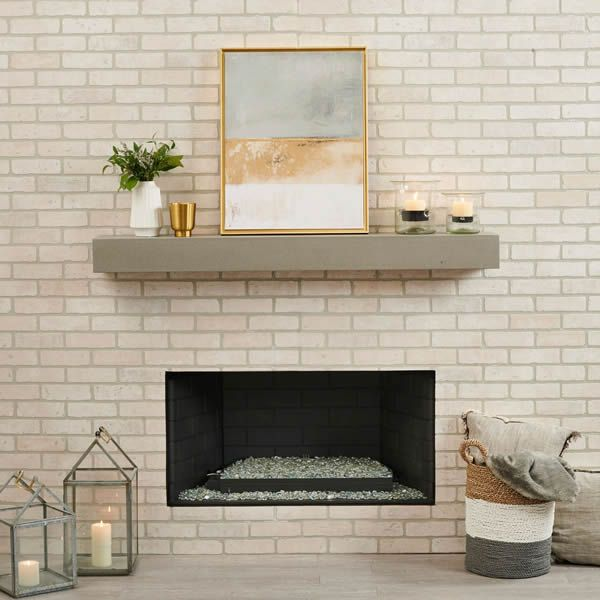 Crestline Modern Hearth Set image number 3