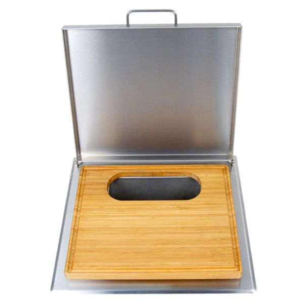 Fire Magic Cut/Clean Combo Trash Chute with Cutting Board image number 0