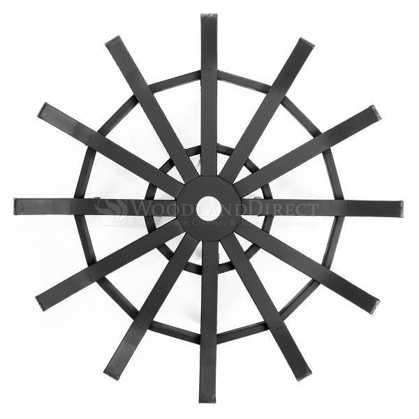 "Custom Firescreen Fire Pit Spider Grate - 23"" image number 1"