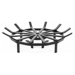 "Custom Firescreen 29"" Fire Pit Spider Grate"
