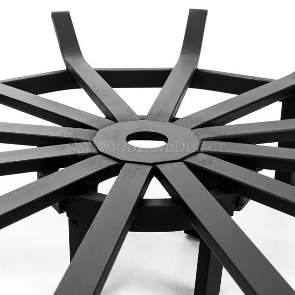 """Custom Firescreen Fire Pit Spider Grate - 29"""" image number 3"""