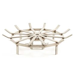 Custom Firescreen Stainless Steel Fire Pit Spider Grate - 29""