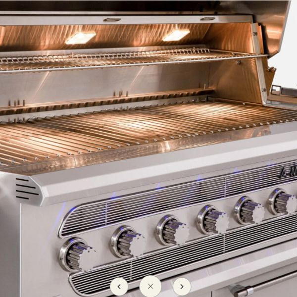 """American Made Grills Built-In Muscle Hybrid Gas Grill -54"""" image number 1"""