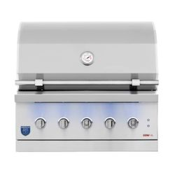 """American Made Grills Built-In Encore Hybrid Grill - 36"""""""