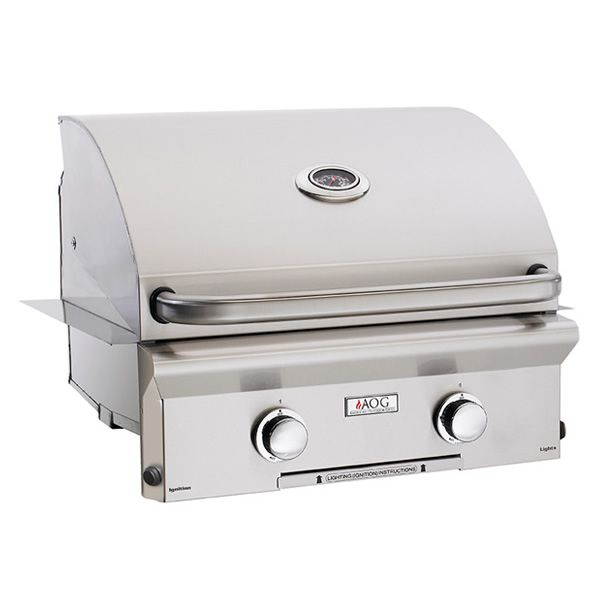 """AOG L-Series Built-In Gas Grill - 24"""" image number 0"""