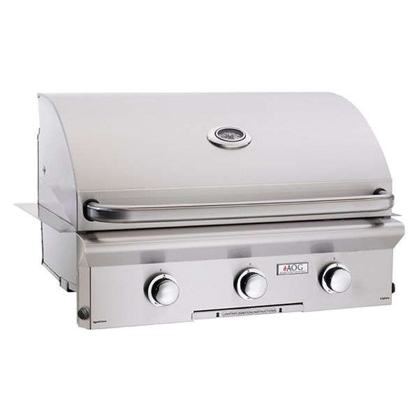 """AOG L-Series Built-In Gas Grill - 30"""" image number 0"""