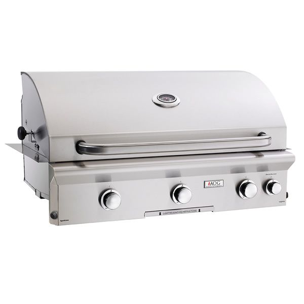 "AOG L-Series Built-In Gas Grill - 36"" image number 0"