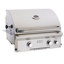 """AOG L-Series Built-In Gas Grill with Rotisserie - 24"""""""