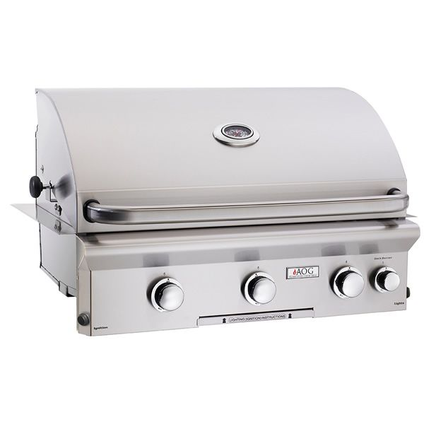 """AOG L-Series Built-In Gas Grill with Rotisserie - 30"""" image number 0"""