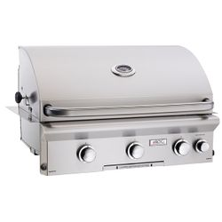 """AOG L-Series Built-In Gas Grill with Rotisserie - 30"""""""