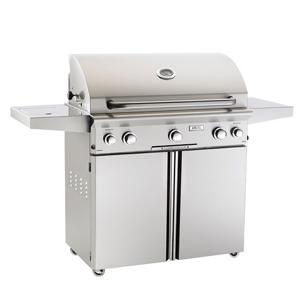 """AOG L-Series Cart-Mount Gas Grill - 36"""" image number 0"""