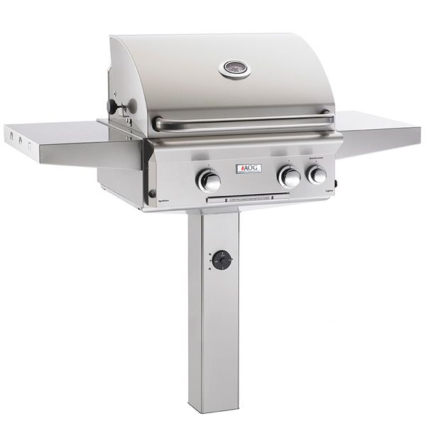 """AOG L-Series In-Ground Mount Gas Grill - 24"""" image number 0"""