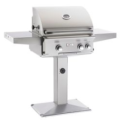 AOG L- Series Patio Post Gas Grill with Rotisserie