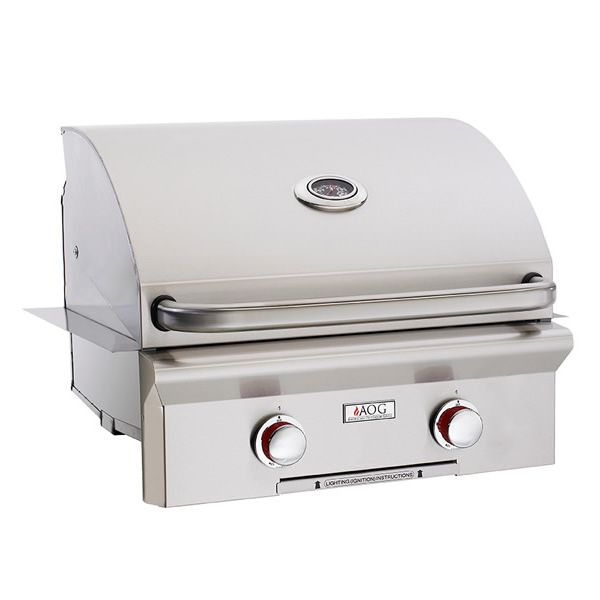 """AOG T-Series Built-In Gas Grill - 24"""" image number 0"""