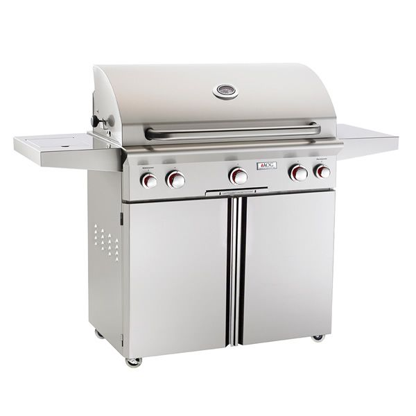 "AOG T-Series Cart-Mount Gas Grill - 36"" image number 0"