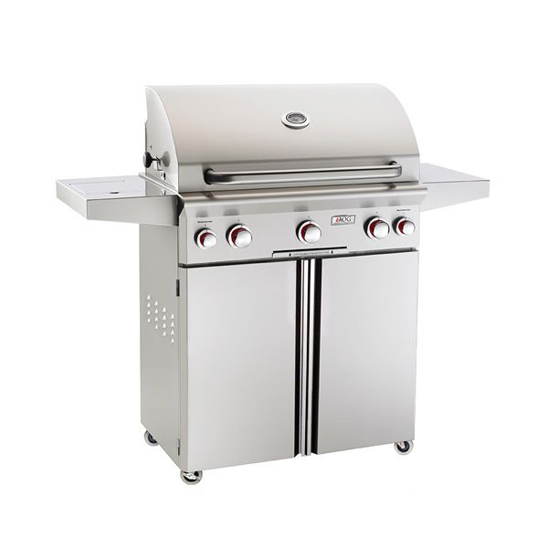 "AOG T-Series Cart-Mount Gas Grill - 30"" image number 0"
