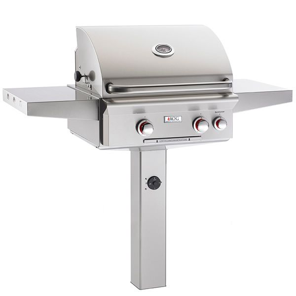 "AOG T-Series In-Ground Mount Gas Grill - 24"" image number 0"