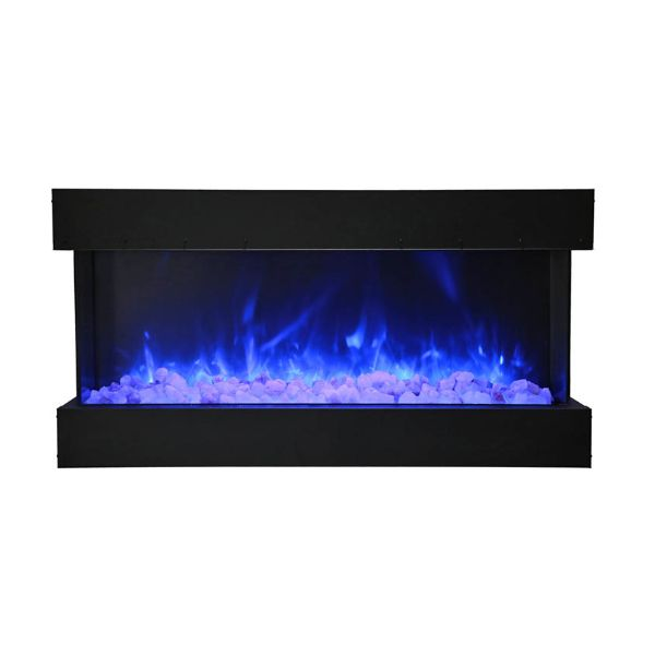 Amantii Deep Extra Tall Built-In Electric Fireplace image number 1