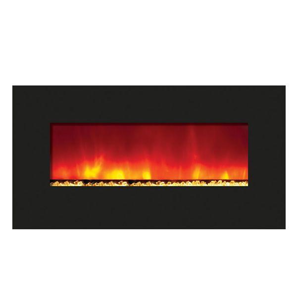 """Amantii Enhanced 34"""" Electric Fireplace - Black image number 1"""