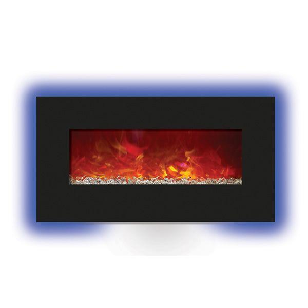 """Amantii Enhanced 34"""" Electric Fireplace - Black image number 2"""
