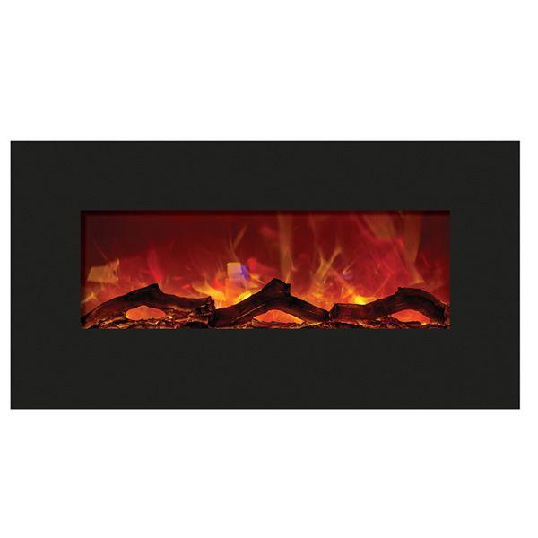 """Amantii Enhanced 34"""" Electric Fireplace - Black image number 0"""