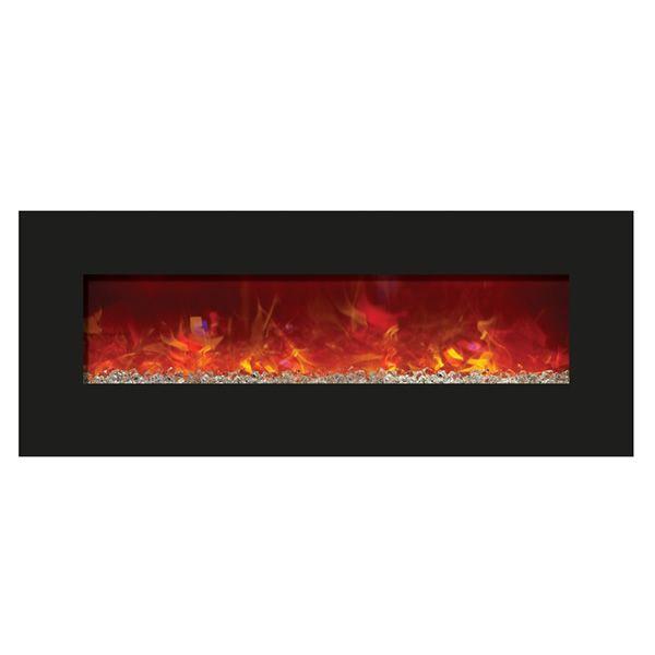 """Amantii Enhanced 48"""" Electric Fireplace - Black image number 1"""