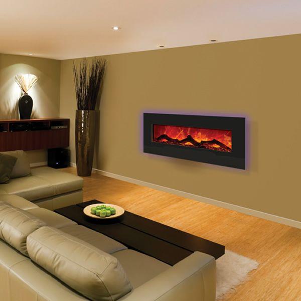 """Amantii Enhanced 48"""" Electric Fireplace - Black image number 2"""