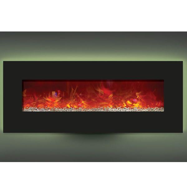"""Amantii Enhanced 48"""" Electric Fireplace - Black image number 4"""