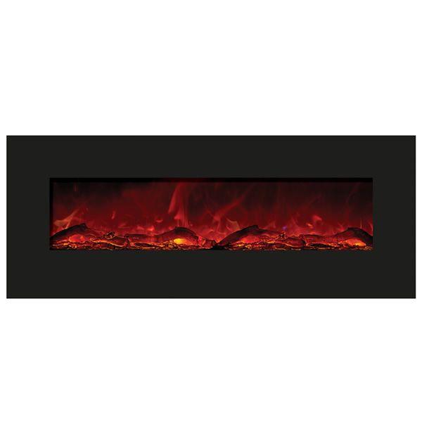 """Amantii Enhanced 48"""" Electric Fireplace - Black image number 0"""