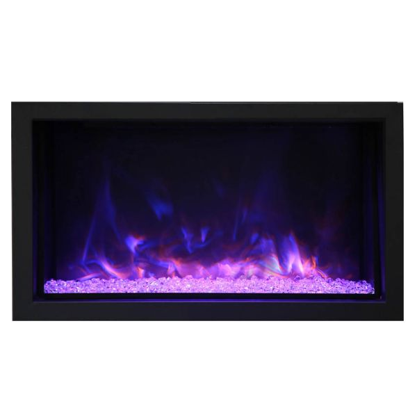 Amantii Deep Extra Tall Built-In Electric Fireplace image number 0