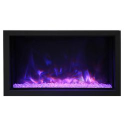 Amantii Deep Extra Tall Built-In Electric Fireplace