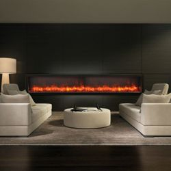 "Amantii 88"" Deep Panorama Electric Fireplace"