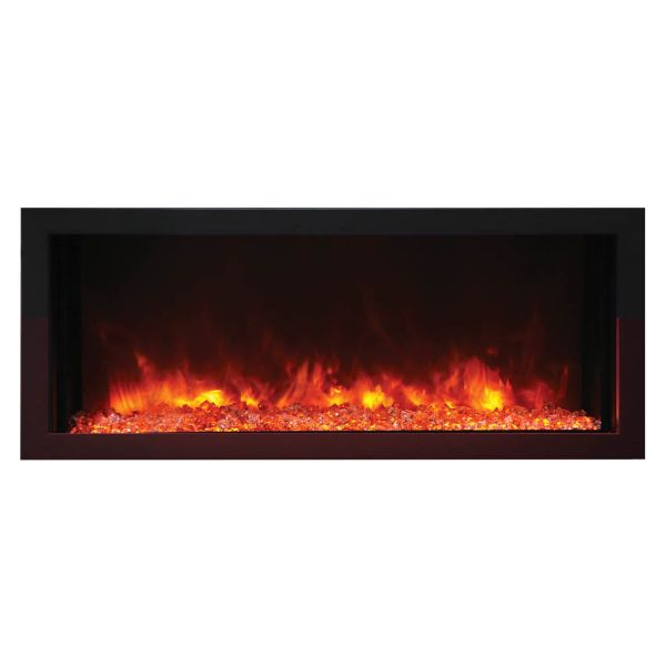 Amantii Extra Slim Indoor/Outdoor Electric Fireplace image number 0