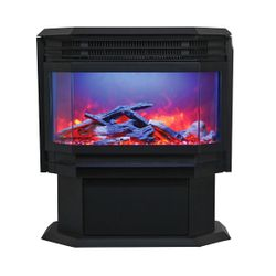 """Amantii Freestand Electric Fireplace - 26"""""""