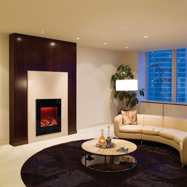 Amantii Square Built-In Electric Fireplace image number 2