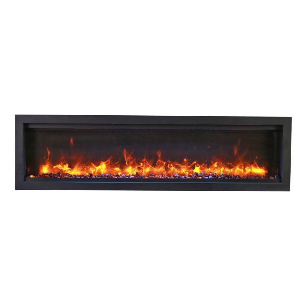 Amantii Symmetry Bespoke Electric Fireplace image number 0