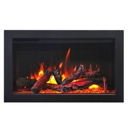 Amantii Traditional Electric Fireplace