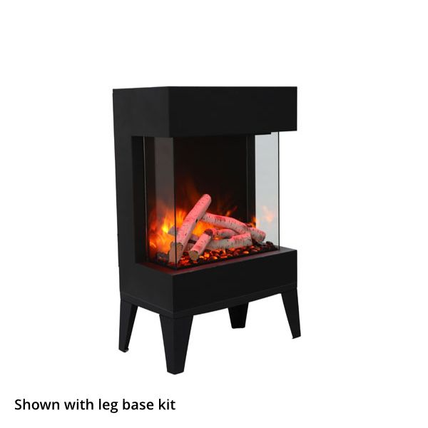 Amantii Tru-View Cube Electric Fireplace image number 1