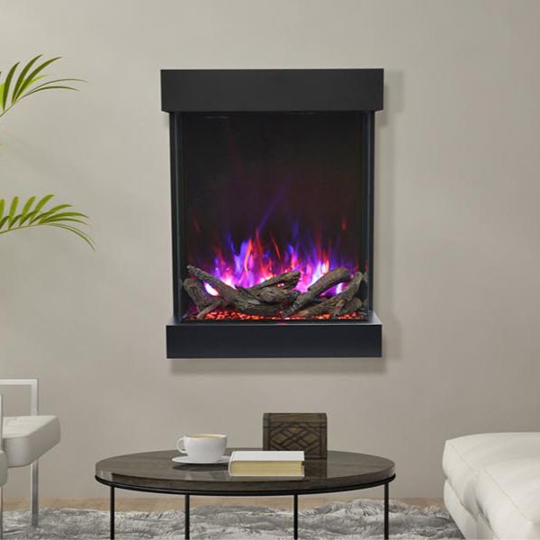 Amantii Tru-View Vertical Electric Fireplace image number 1