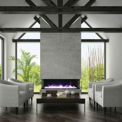 "Amantii 72"" Tru View Electric Fireplace"