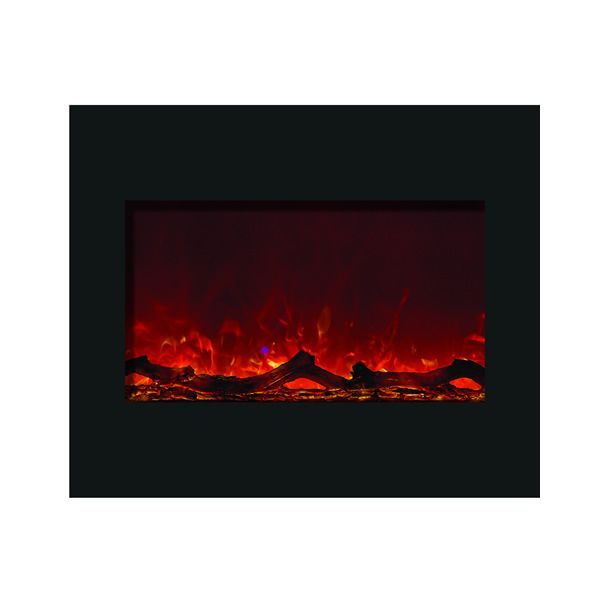 "Amantii 30"" Zero Clearance Electric Fireplace - Espresso Mantle image number 4"
