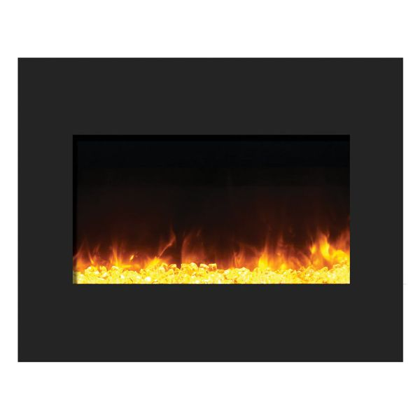 Amantii Zero Clearance Fireplace with Glass Surround image number 0