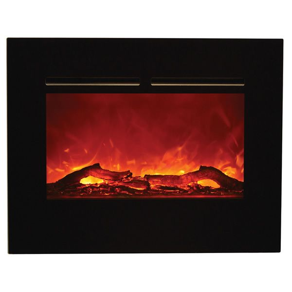 """Amantii Zero Clearance Flush Mount Electric Fireplace -26"""" image number 0"""