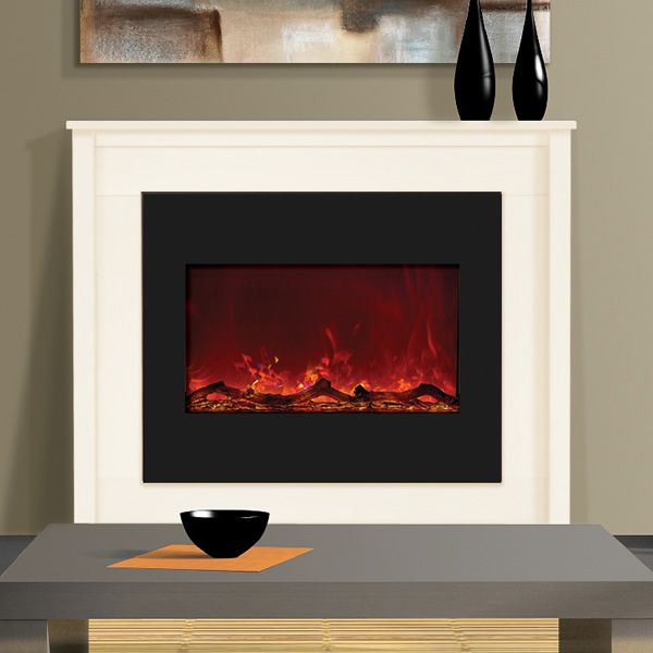 "Amantii Zero Clearance Flush Mount Electric Fireplace - 30"" image number 1"
