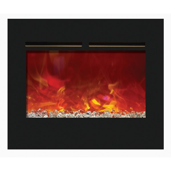 "Amantii Zero Clearance Flush Mount Electric Fireplace - 30"" image number 0"